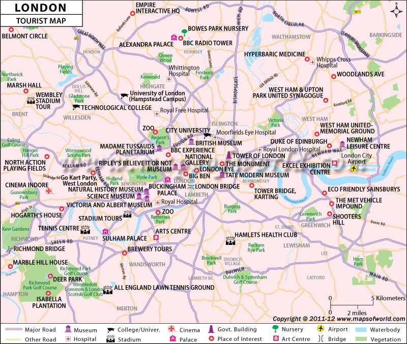 London Tourist Map will help u to enjoy Olympics as well as explore