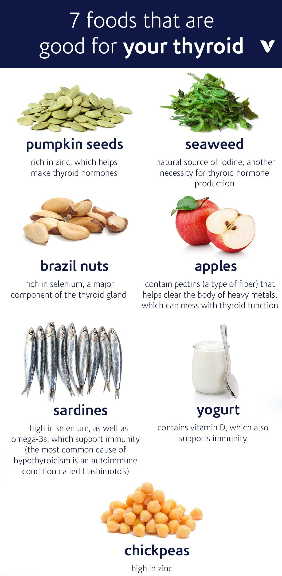 7 Foods That Are Good For Your Thyroid | What's Good by V ...