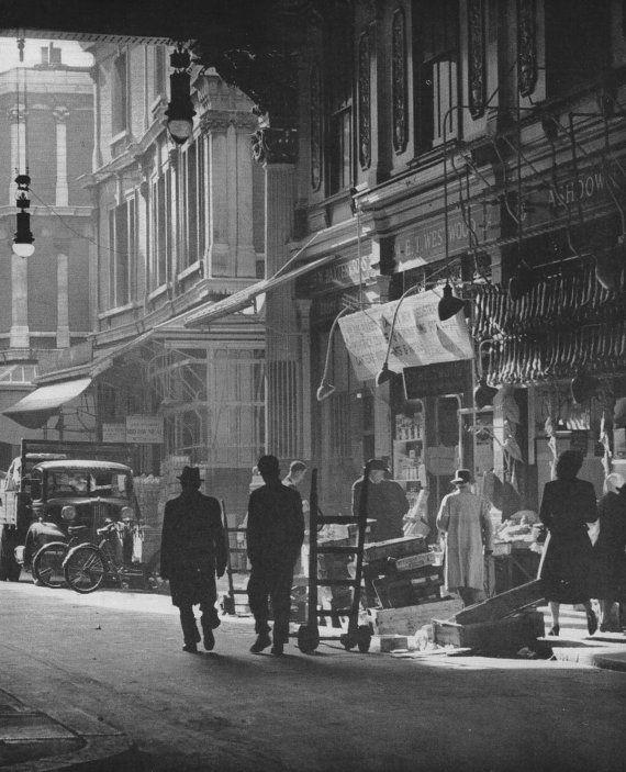 Leadenhall Market City of London England Photograph Picture Print