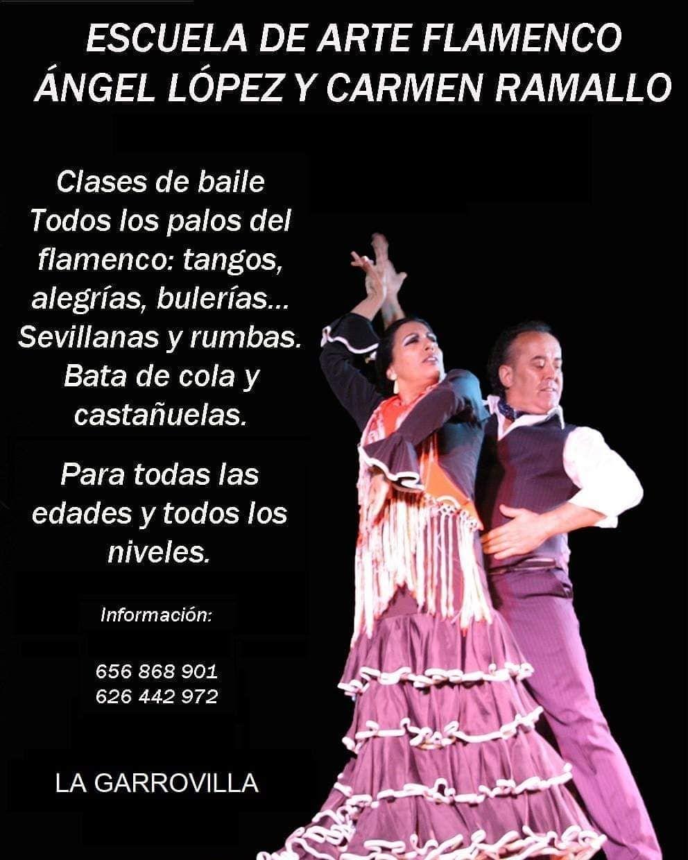 Escuela De Arte Flamenco ángel López Y Carmen Ramallo Te Gustaría Aprender A Bailar Sevillanas Bulerías Rumbas Y Otros Palos Del