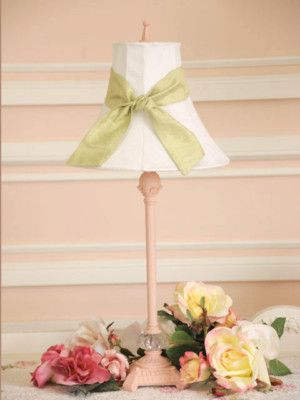 Rachel Ashwell Shabby Chic Table Lamp Shade White Roses Flowers Rare