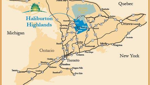 Map Of Haliburton Ontario Canada Home Page Title   #MyHaliburtonHighlands | Haliburton, Lake