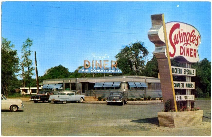 swingle s diner in springfield nj diner vintage photos eatery swingle s diner in springfield nj