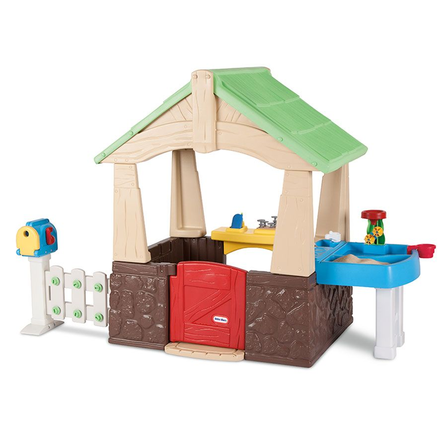Little Tikes Deluxe Home And Garden Playhouse Toysrus