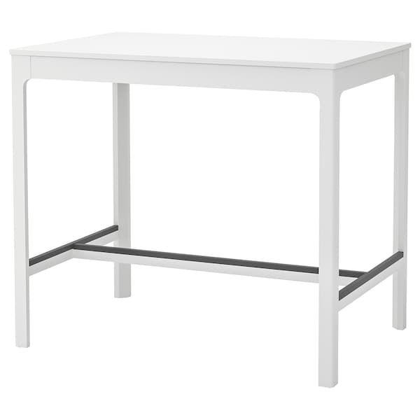 ekedalen table de bar blanc ikea