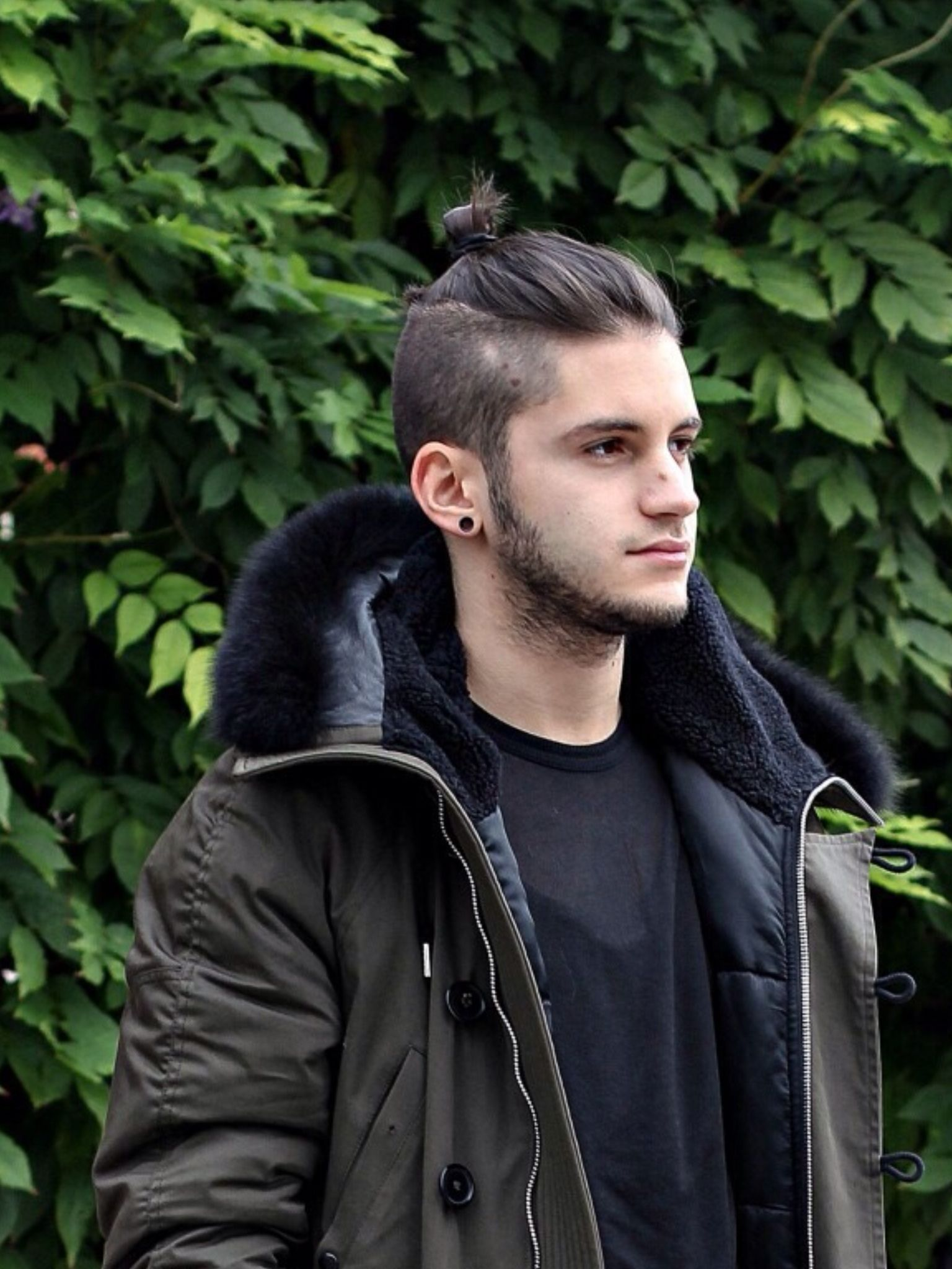 Men S Fashion Hair Man Bun Hairstyles Top Knot Hairstyles Bun Hairstyles