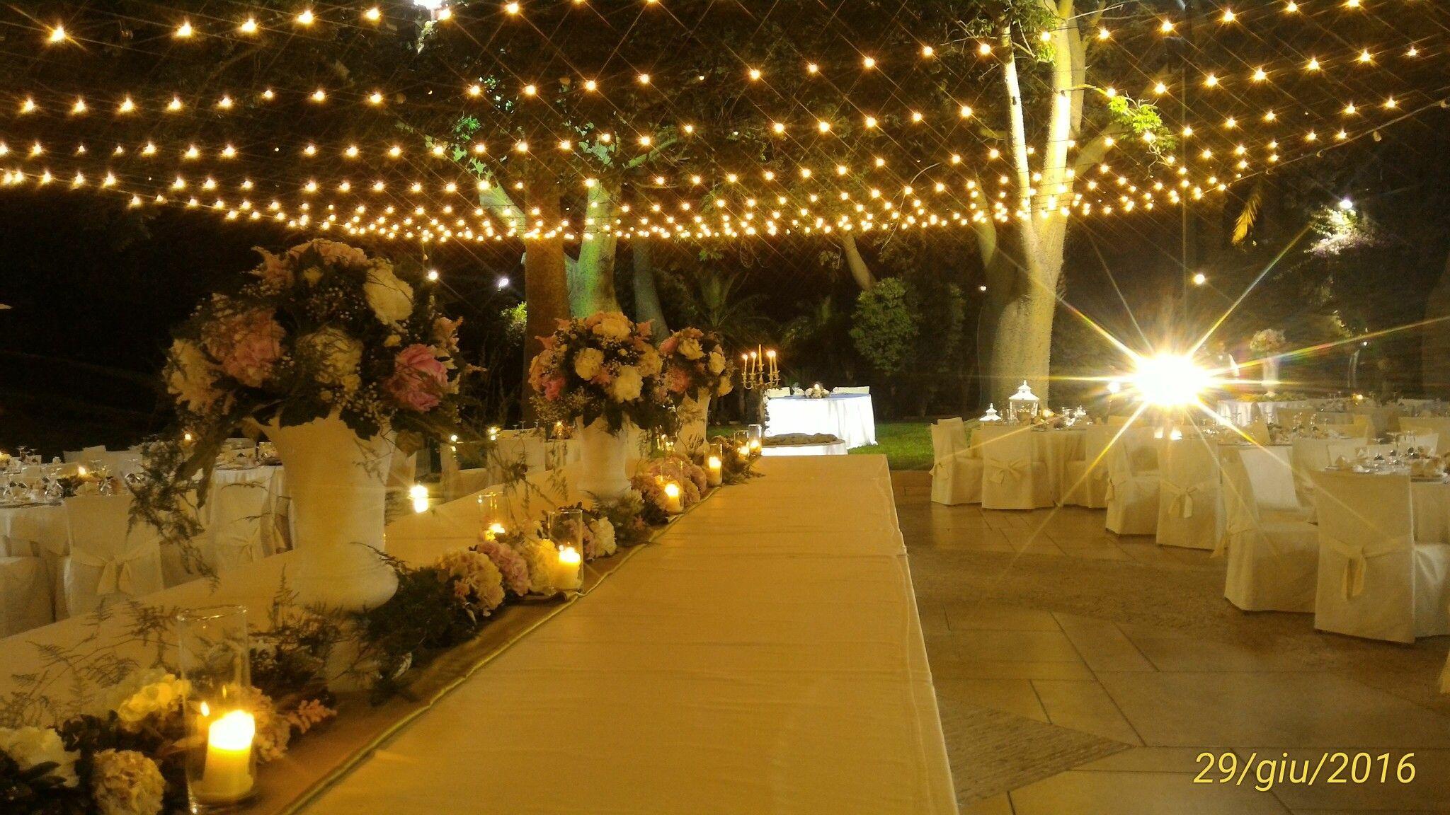 Salone delle feste Minoa Marsala. Il giardino delle Stelle