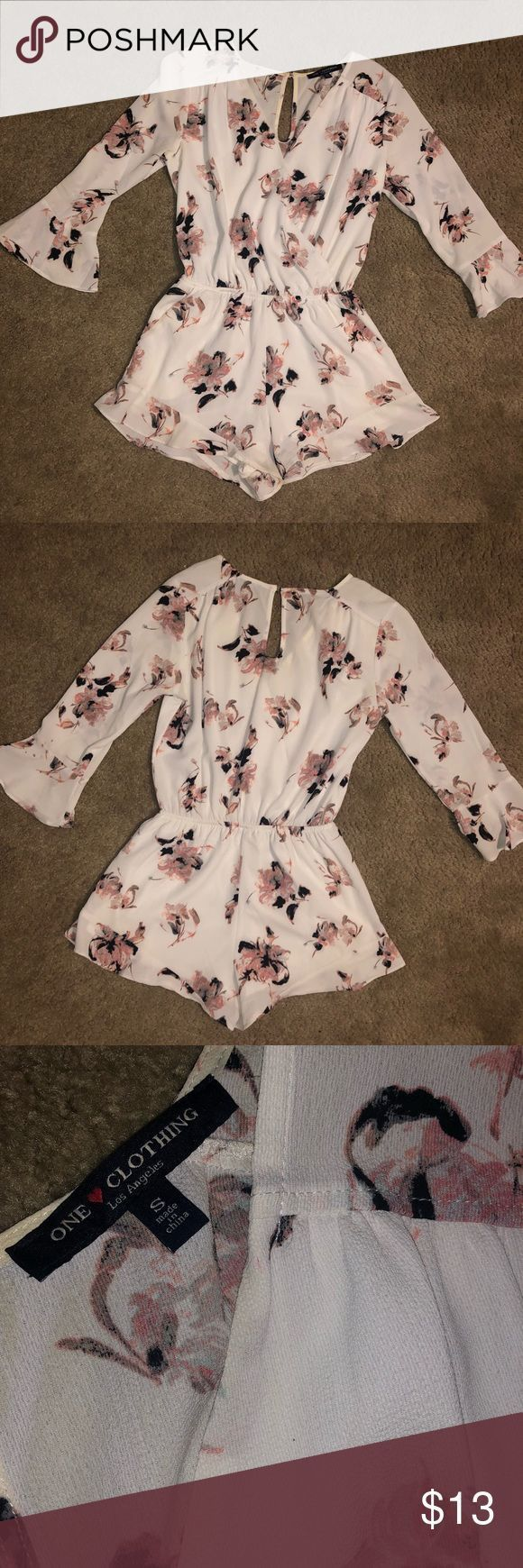 Floral Romper Dressy floral romper. Size small. Good condition Other   Floral R#Eyes