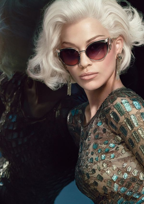 98bcc15cc The iconic snake emblem makes an appearance in the new Roberto Cavalli S/S  2015 #eyewear collection! #sunglasses #fashion #accessories