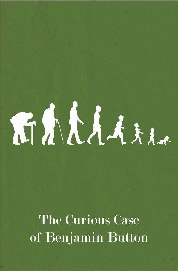 The Curious Case Of Benjamin Button Carteles De Cine Minimalistas Carteles Minimalistas De Peliculas Carteles De Cine