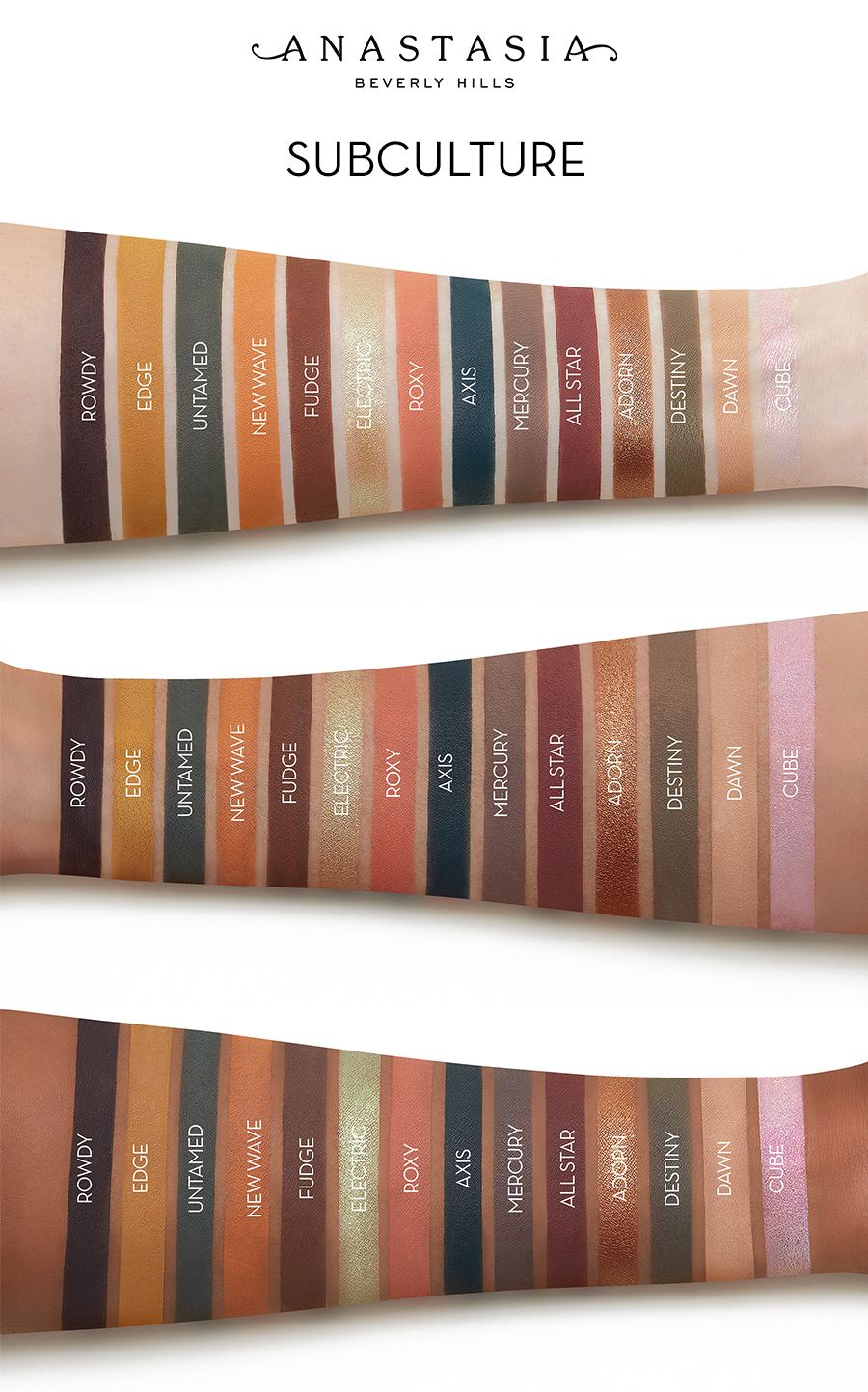 ABH New Palette Prism-- Swatches : MakeupAddiction