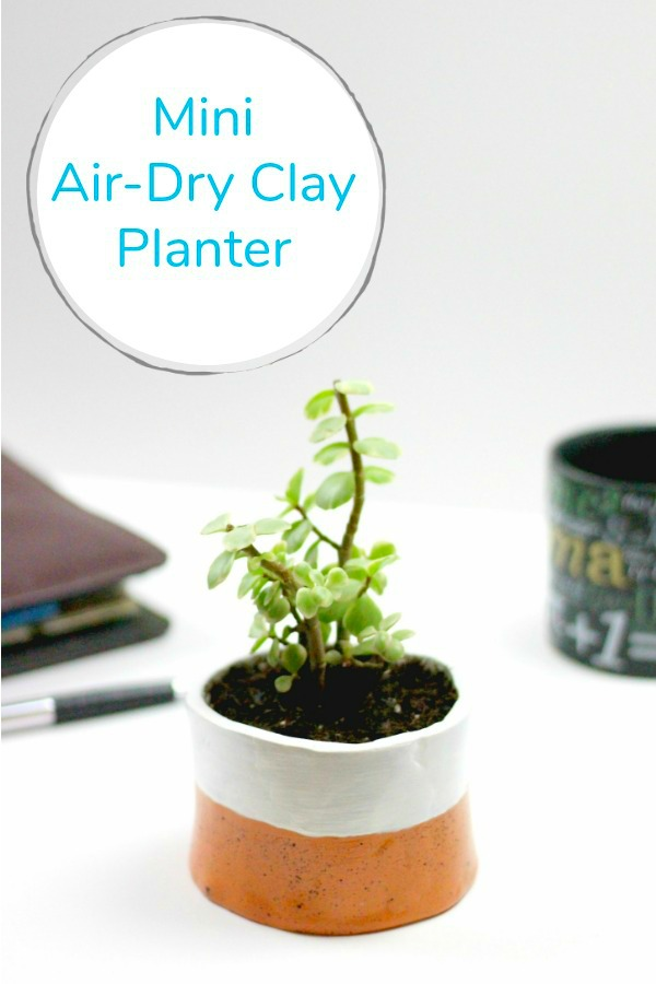 DIY Air Dry Clay Planter Diy air dry clay, Dry clay, Air