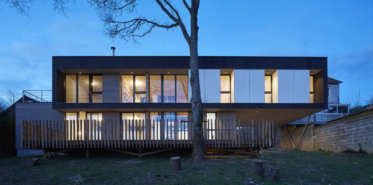 Prix national de la construction bois - PNCB 2017 - Maison avec vue - construire sa maison en bois prix