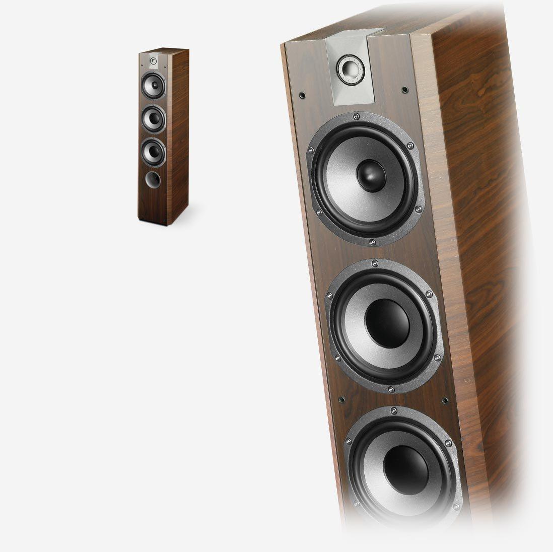 Floorstanding loudspeakers Focal Chorus 726 V for real hifi