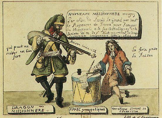 Les Dragonnades 1681 1685 Musee Virtuel Du Protestantisme Edit De Nantes Louis Xiv Nantes