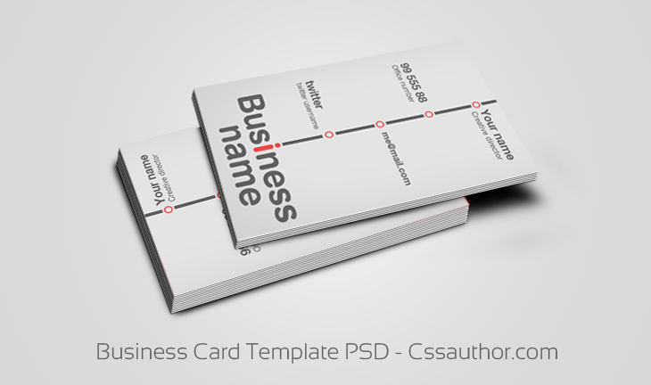 Free Business Cards Templates Psd Files Free Business Card