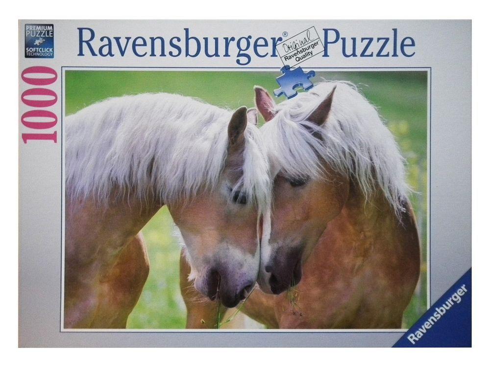 Details zu Ravensburger Puzzle 1000 Teile Inniger Moment Softclick ...