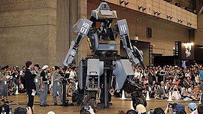 Million dollar robo-suit unveiled (Video Thumbnail)
