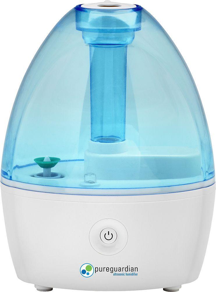 Pureguardian Ultrasonic Cool Mist Humidifier Blue White Cool Mist Humidifier Ultrasonic Cool Mist Humidifier Small Humidifier