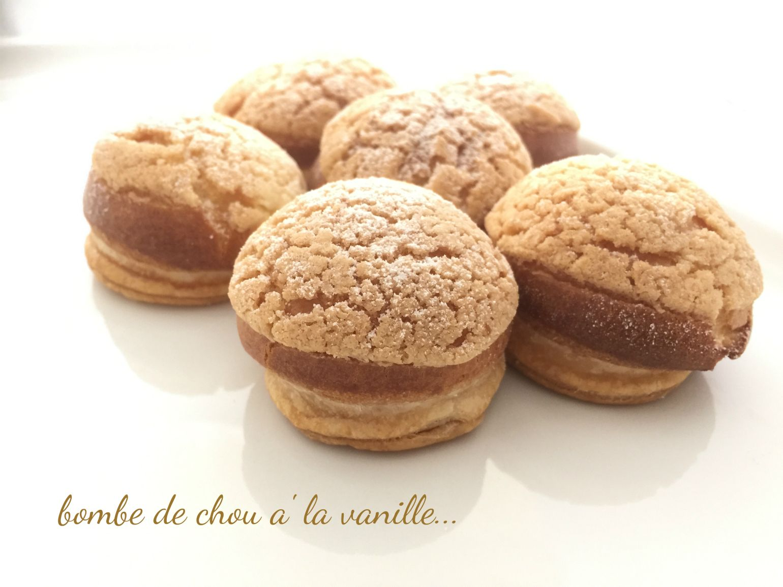 I Dolci di Pinella: Bombe de chou à la vanille...