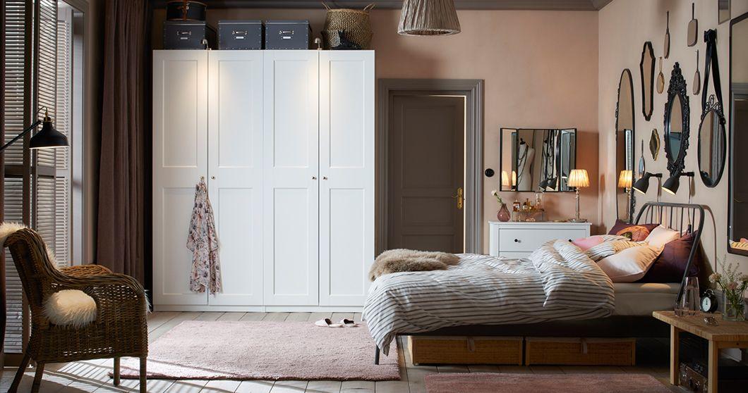 Sypialnie Meble Do Sypialni łóżka Materace Ikea Flat