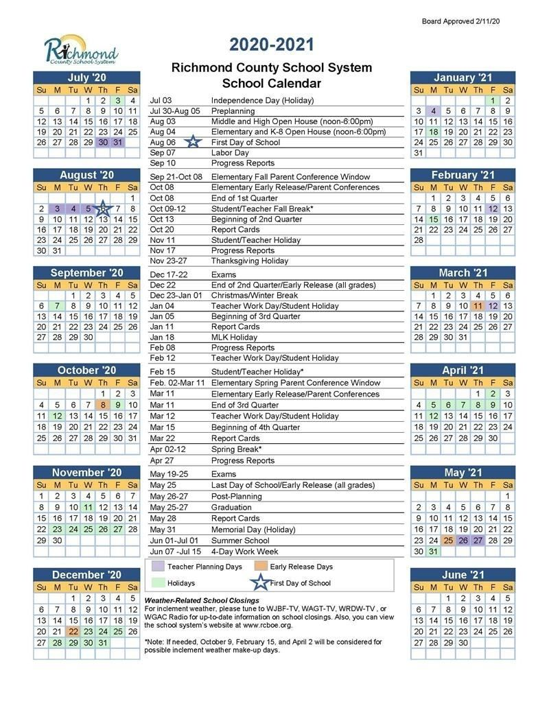 Ksu Academic Calendar Summer 2022.Media Center 2020 2021 School Calendar School Calender School Calendar 2021 Calendar