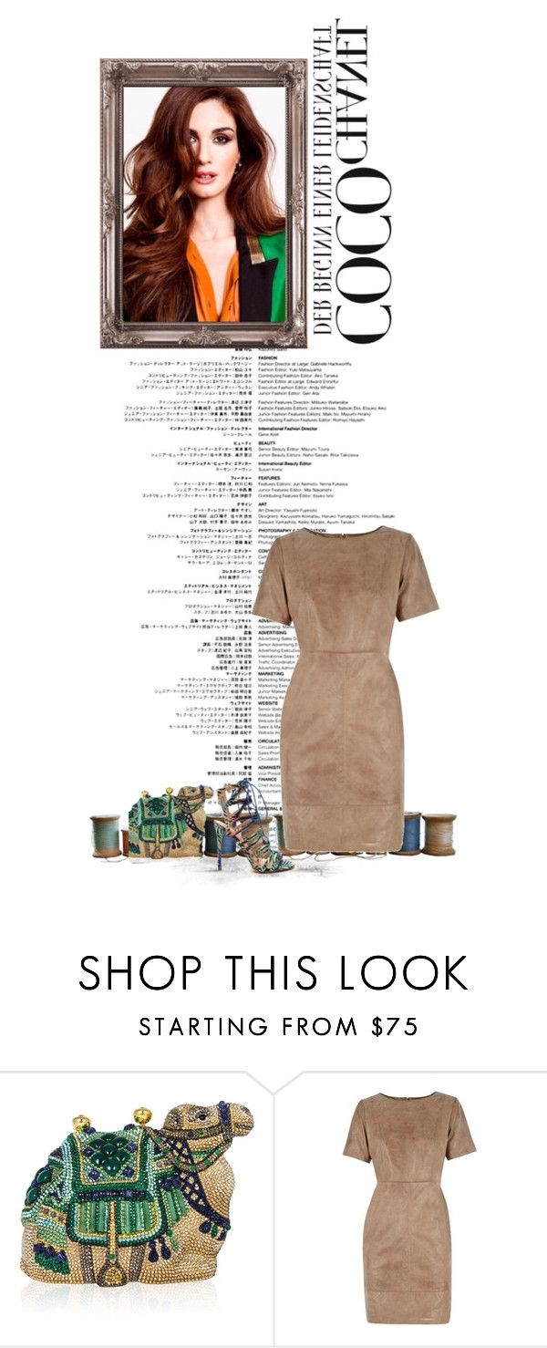 """""""Something Different"""" by ch-swisss ❤ liked on Polyvore featuring Judith Leiber, Oasis and Chanel"""