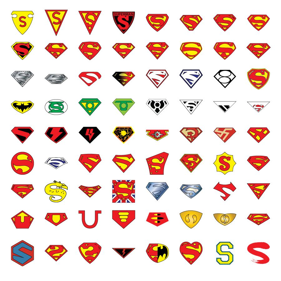 superman symbols smallvillesuperman pinterest