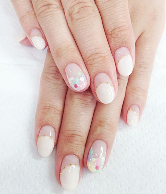 15 Unbelievably Pretty Japanese Wedding Nail Styles