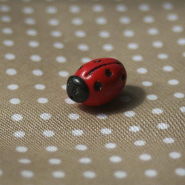 Ladybird Bead £3.50