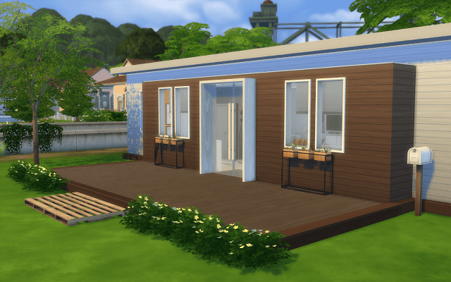Telecharger Petite Maison Sims 4 Maison Sims Petite Maison Moderne Sims 4 Maison