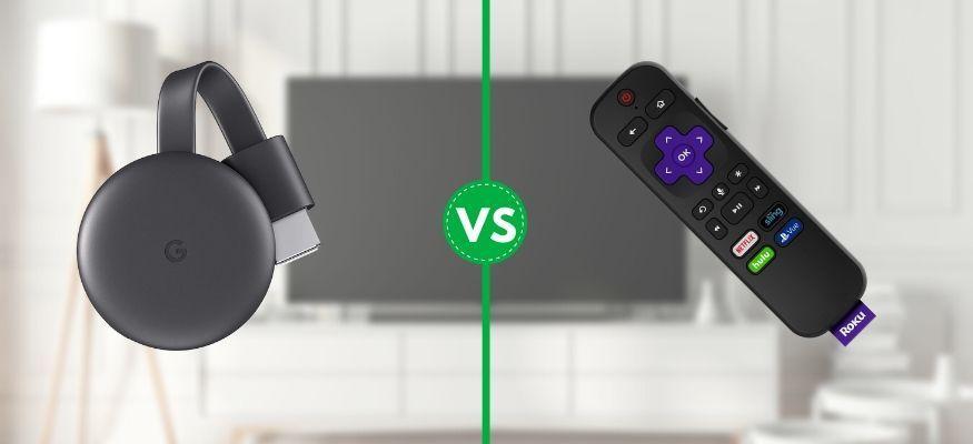 Google Chromecast vs. Roku Express Which Streaming Device