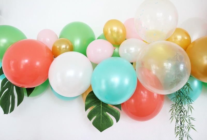 Diy ballongirlande diy kit zubeh r ballonarch - Gartenparty zubehor ...