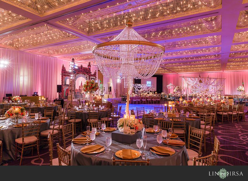 Hyatt Regency Long Beach Wedding Reception Manpreet Sonia Decor Pinterest Weddings And