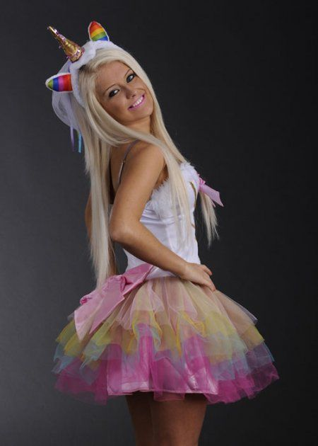 how to make unicorn balloon costume