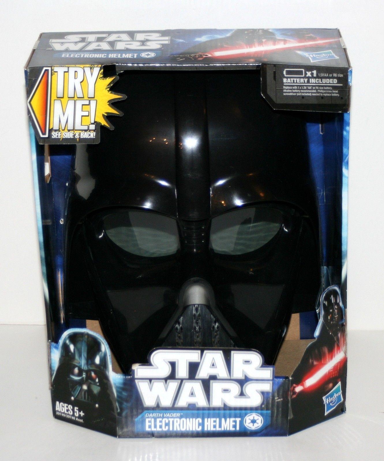 2011 Hasbro Darth Vader 'Electronic Helmet' in Original Package Star Wars | eBay