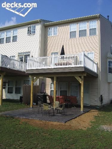 High Elevation Deck Picture Gallery Townhouse