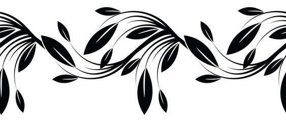 Black And White Floral Abstract Vectors Stock Photos Royalty Free Images Vectors Video Black And White Vector Stock Vector