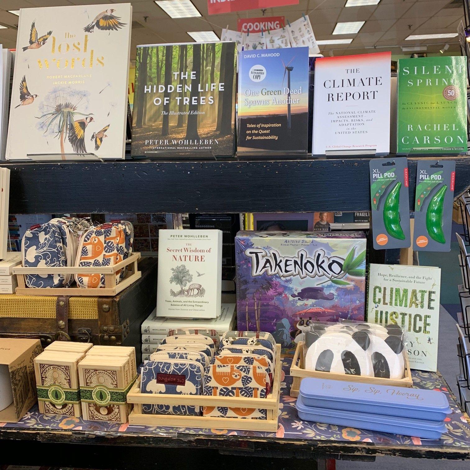 Earth Day April 2019 Porter Square Books Books Bookstore Bookshop