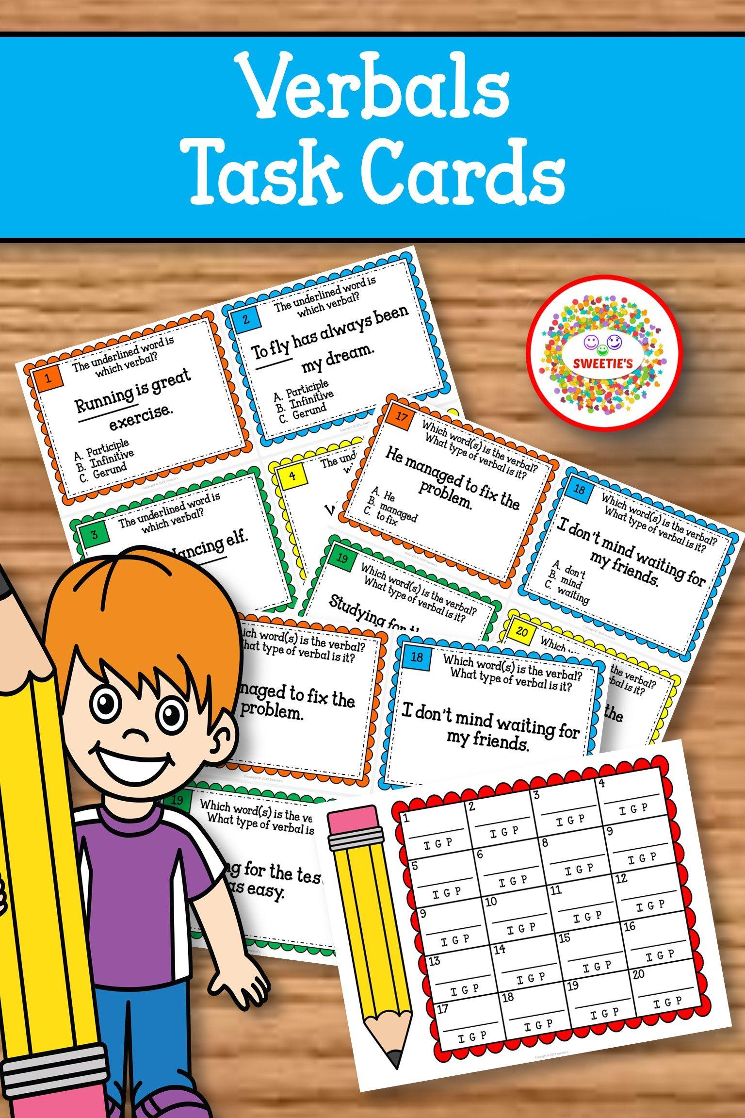 Verbal Task Cards