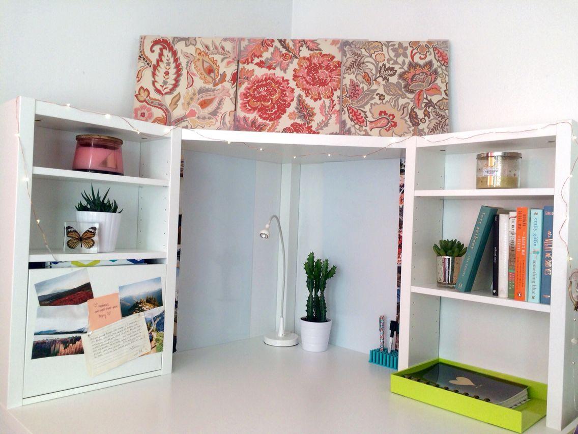 Updated My Micke Corner Desk From Ikea Ikea Corner Desk
