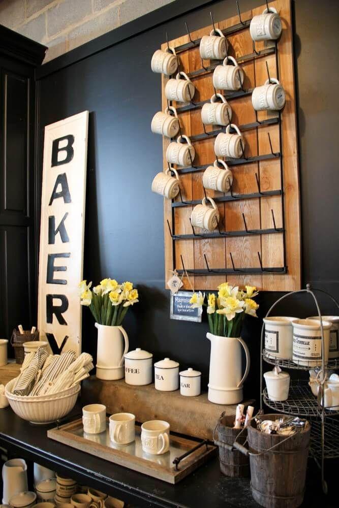 24 Fun And Creative Coffee Mug Organization Ideas Coffee Nook Coffee Cups Diy Diy Coffee Bar