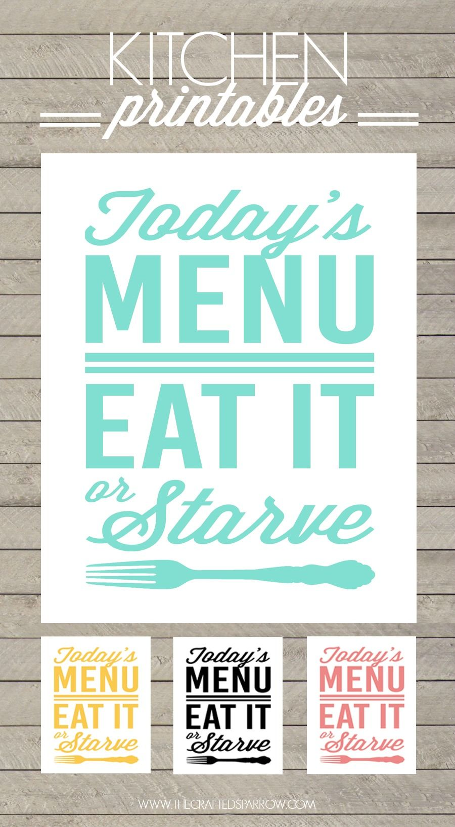 Free Kitchen Printables | Pinterest | Kitchens, Free and Kitchen ...
