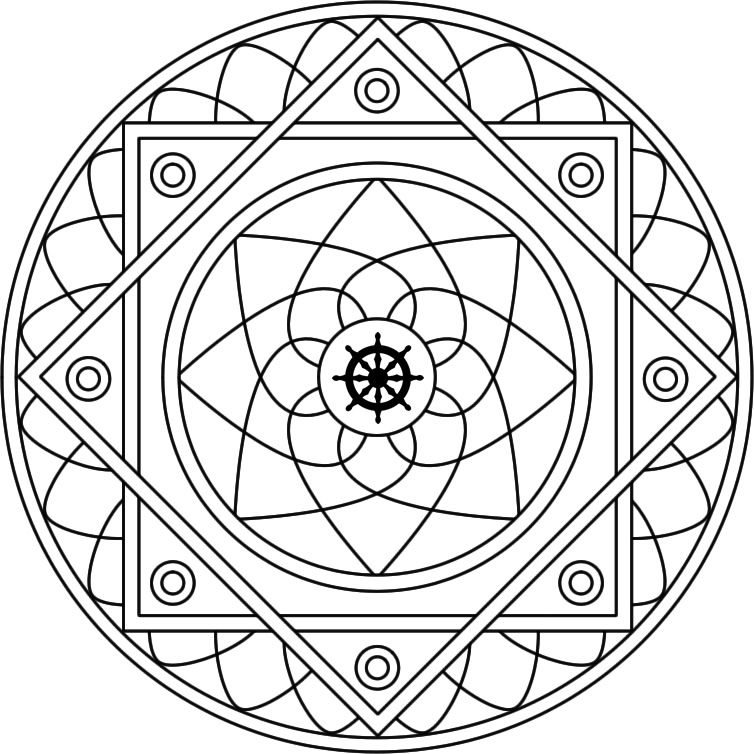 29 Free Printable #Mandala Colouring Pages - Canada Arts Connect ...