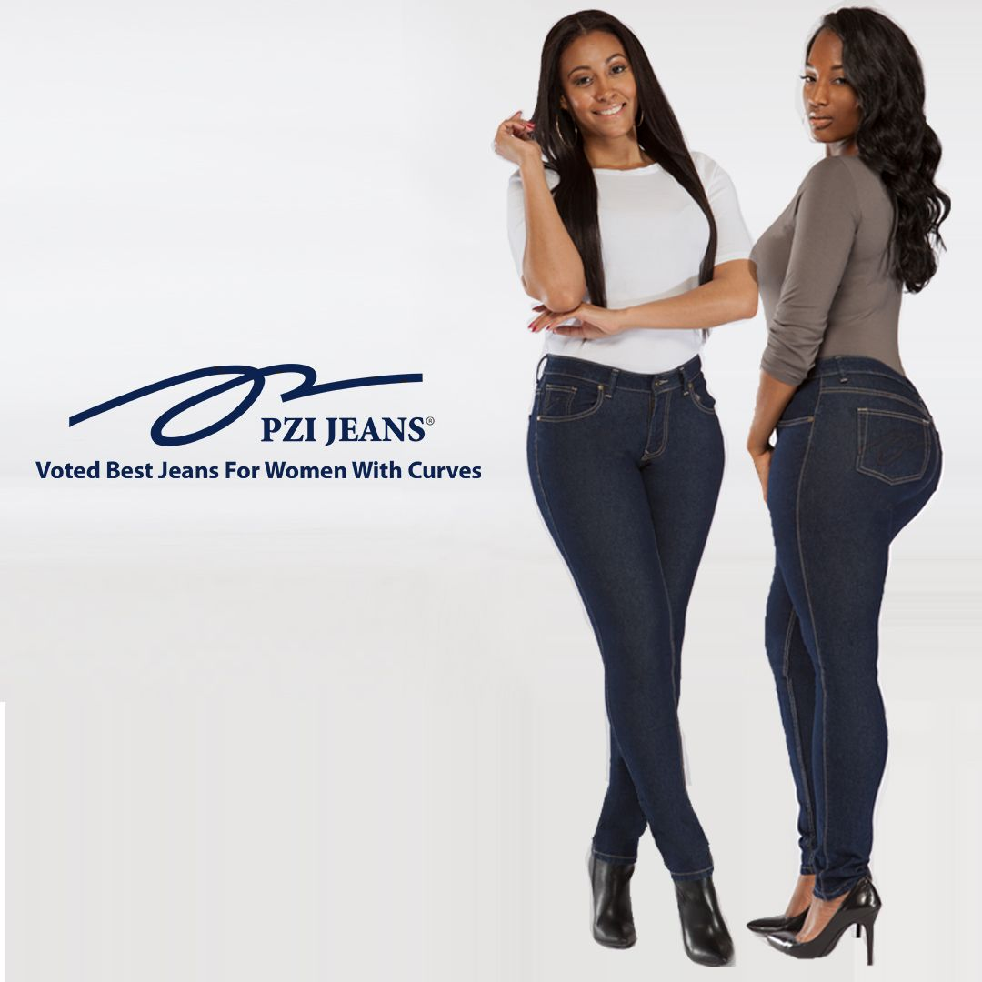 c73078a6d55 All Smile in PZI Jeans. Curvy Girls Heaven!!