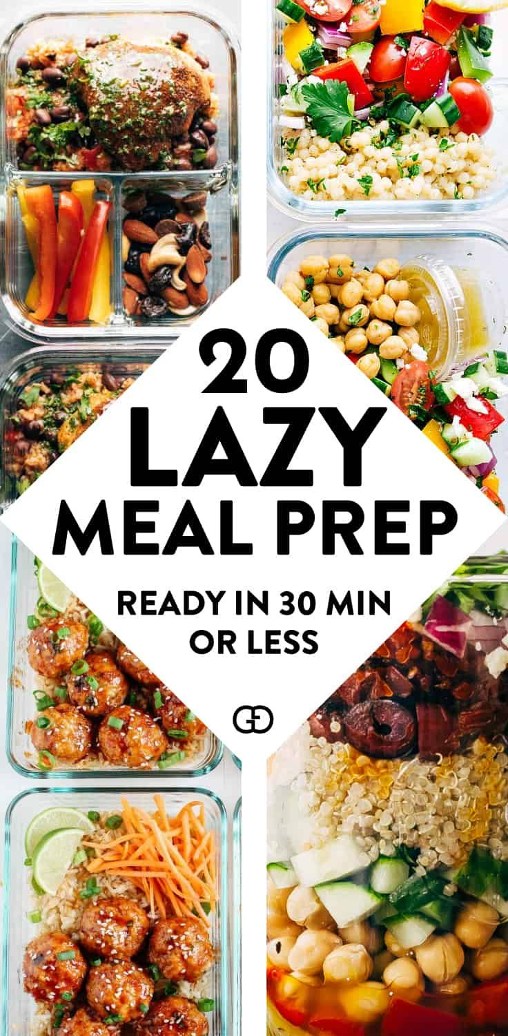 25 Healthy Meal Prep Ideas To Simplify Your Life images