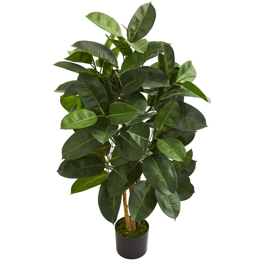Nearly natural indoor ft oak ficus artificial tree products