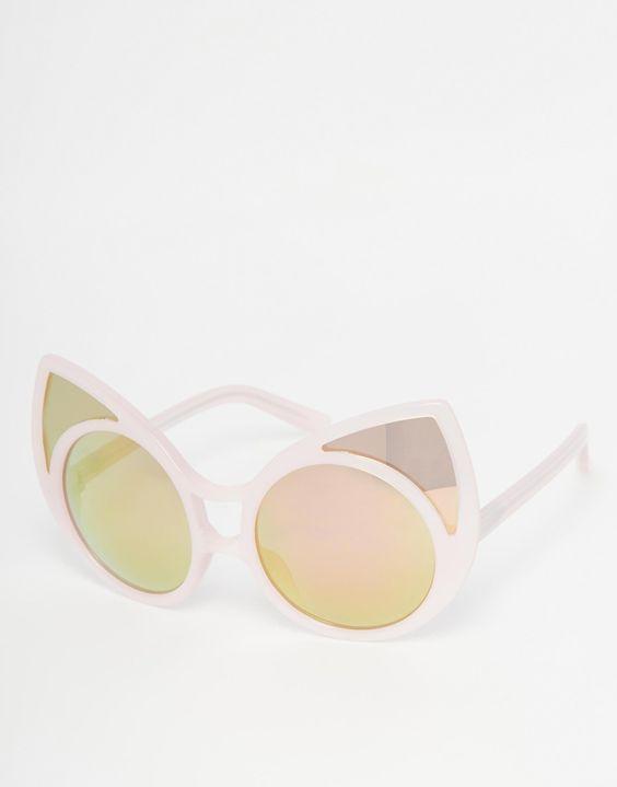 61398c66e019db Linda Farrow - Lunettes de soleil yeux de chat pointues    À acheter ...
