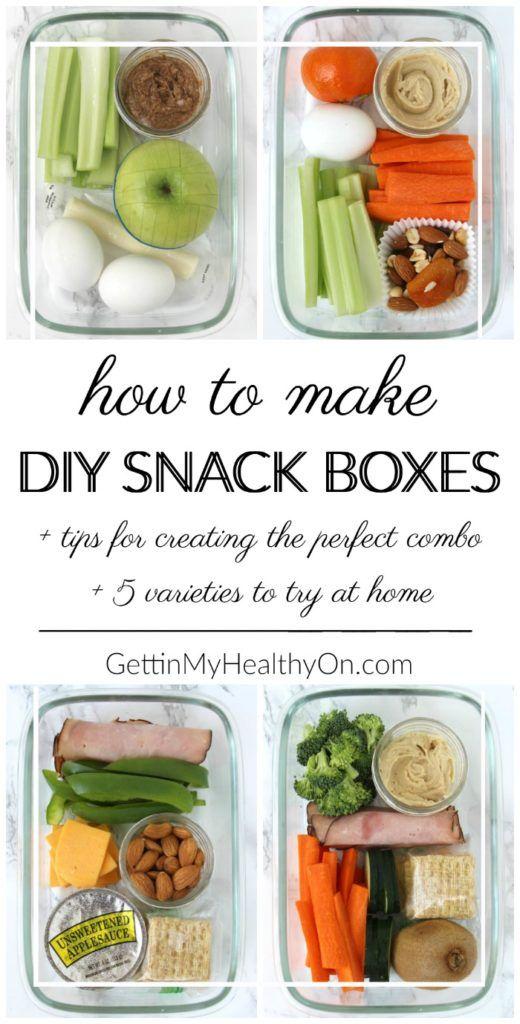 Diy snack boxes solutioingenieria Gallery
