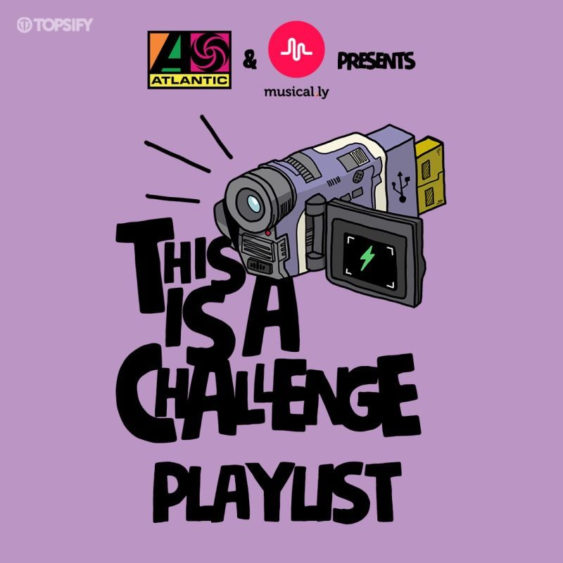 """It's lit!!! 🔥🔥 #ThisIsAChallenge is in full effect! Create musical.lys to your favorite #ThisIsAChallenge songs featuring dance hits like """"Juju On That Beat""""! Check out the playlist here: https://atlanti.cr/streamtiac"""